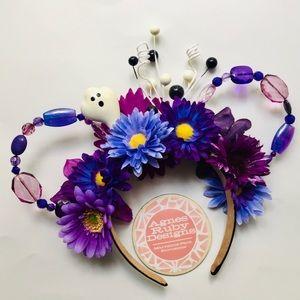 Purple Haunted Halloween Disney Minnie Mouse Ears